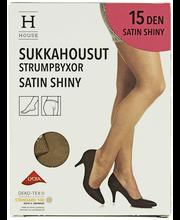 Naiste sukkpüksid Satin Shiny 15 den sun, 44-48
