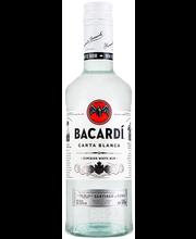 Bacardi Carta Blanca rumm 37,5% 500 ml