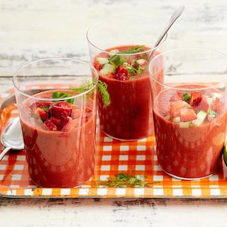 Maasika gazpacho