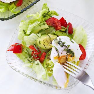 Pošeeritud munaga salat