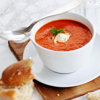 Tomati-pestosupp