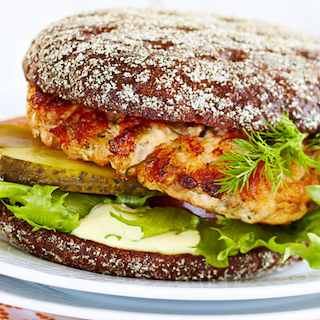 Lõhe-rukkiburger