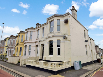 First Floor Apartment in need of full renovation offered to Cash Buyers Only.