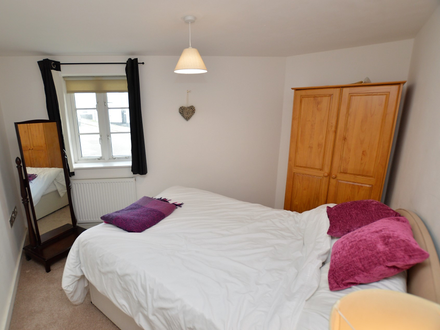 A superb apartment currently being used as a holiday let.