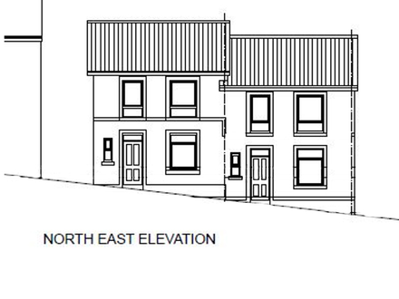 Land With Planning For A Pair Of Three Bedroom Semi Detached Dwellings