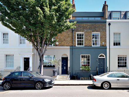 Modernised period terrace house
