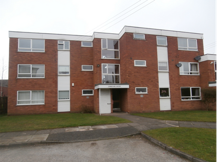 Two Bedroom Ground Floor Flat with the benefit of an extended Lease and Garage