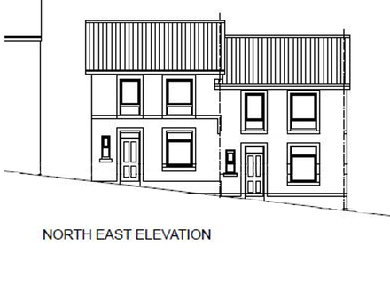 Land With Planning For A Pair Of Semi Detached Dwellings