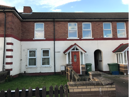 Vacant Mid Terraced Three Bedroom House
