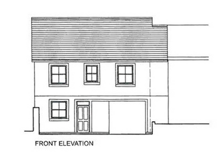 Land With Planning For The Construction Of A Four Bedroom House