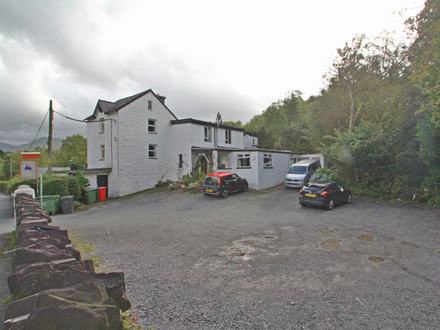 B&B growing thriving business looking towards Snowdonia.  Restaurant and bunk house, off road parking - could be your dream business.
