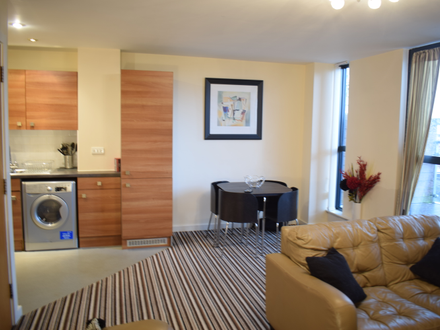 Two bedroom, 6th floor apartment
