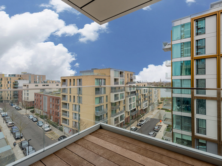 New Build 748 sq ft 5th Floor Two Bed Two Bath Apartment in Finsbury Park, N4