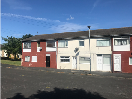 Three two bedroomed flats.