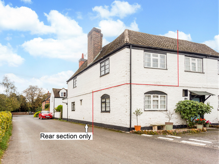Part of a Grade II Listed cottage in the heart of this pretty and convenient village
