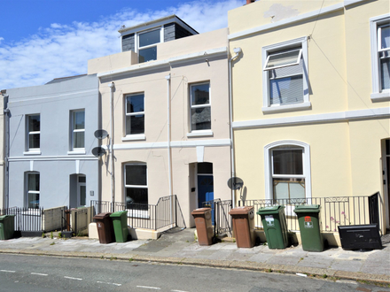 Mid Terraced House arranged as two maisonettes each with two bedrooms