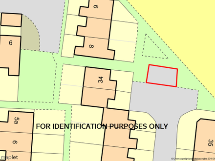 Land comprising parking spaces, close to University Hospital.