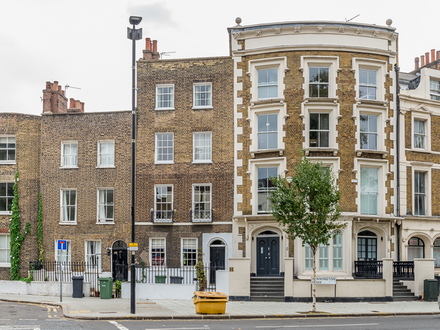 Impressive 1900 Sq ft Georgian Townhouse in SE1