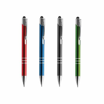 Penna a Sfera in Alluminio Mod. Chrome Plus...Personalizzabile