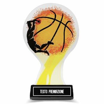 Coppa Trofeo Basket Design in Plexiglass...
