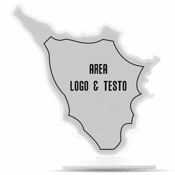 Targa-Trofeo Plexiglass Mod. TUSCANIA