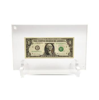 Teca Scrigno Porta Banconota da Esposizione e Conservazione