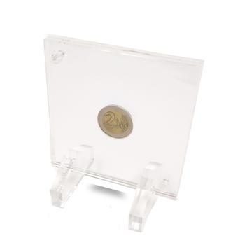 Teca Scrigno Porta Moneta da Esposizione e Conservazione