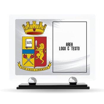 "Targa Plexiglass Design ""Polizia di Stato"" 23 cm x 20 cm"