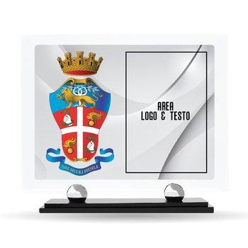 "Targa Plexiglass Design ""Carabinieri"" 23 cm x 20 cm"