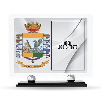 "Targa Plexiglass Design ""Guardia di Finanza"" 23 cm x 20 cm"