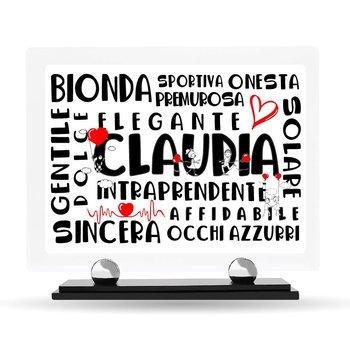 """Targa Plexiglass Design """"Sei Speciale..."""""""