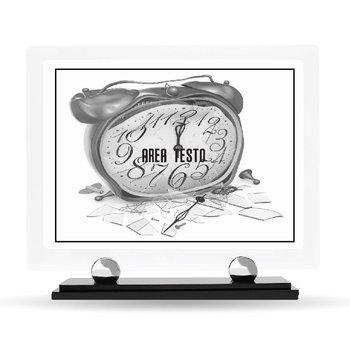 Targa Plexiglass Design Pensionamento 23 cm x 20 cm