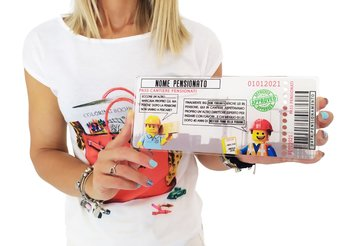 Funny Ticket's Pensionamento 29,5 cm x 15 cm
