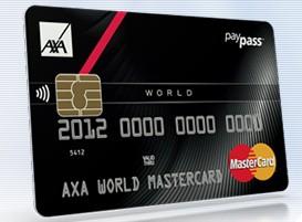 axa world mastercard