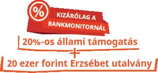Bankmonitor nyugdíj akció