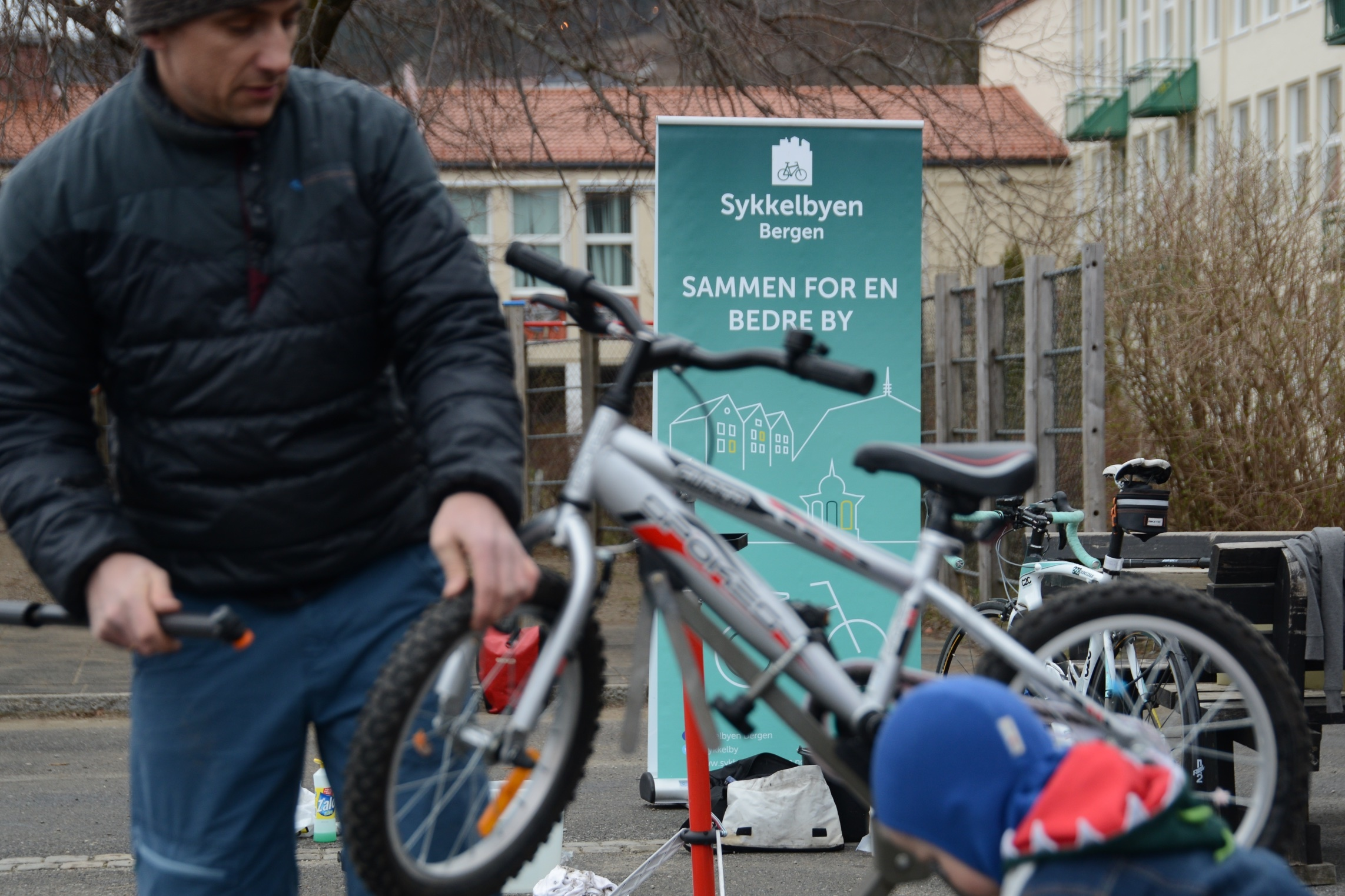 Bærekraftige liv samarbeider med Sykkelbyen Bergen