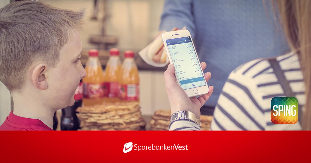 Sparebanken vest lanserer en ny betalingsapp som vi vil teste ut på LandåsFest. Sikker betaling og mindre kø.