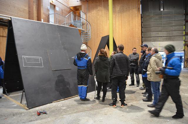 Snekkerverkstedene til Bergen fengsel og ALF var spesielt invitert med på workshopen.