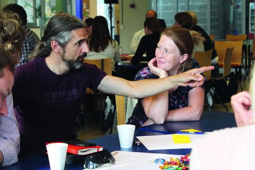 Bærekraftige liv har flere ganger arrangert Landåskonferansen, for å gi hele nabolaget en talerstol. Foto: Lars Ove Kvalbein.