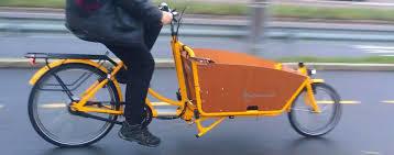 Trasportsykkel i stedet for korte bilturer