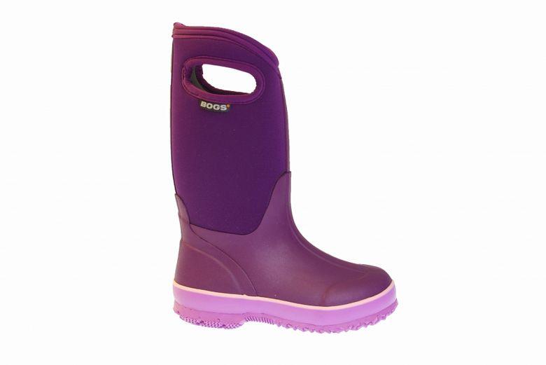 Köp Bogs Classic High Handle Solid Purple Skor Online