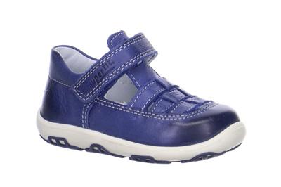 59c0653986 En söt sommarsandal till de mindre barnen från Superfit. Donny sandal med  stängt tåparti för bättre skydd är tillverkad helt i mjukt skinn som är  följsamt ...