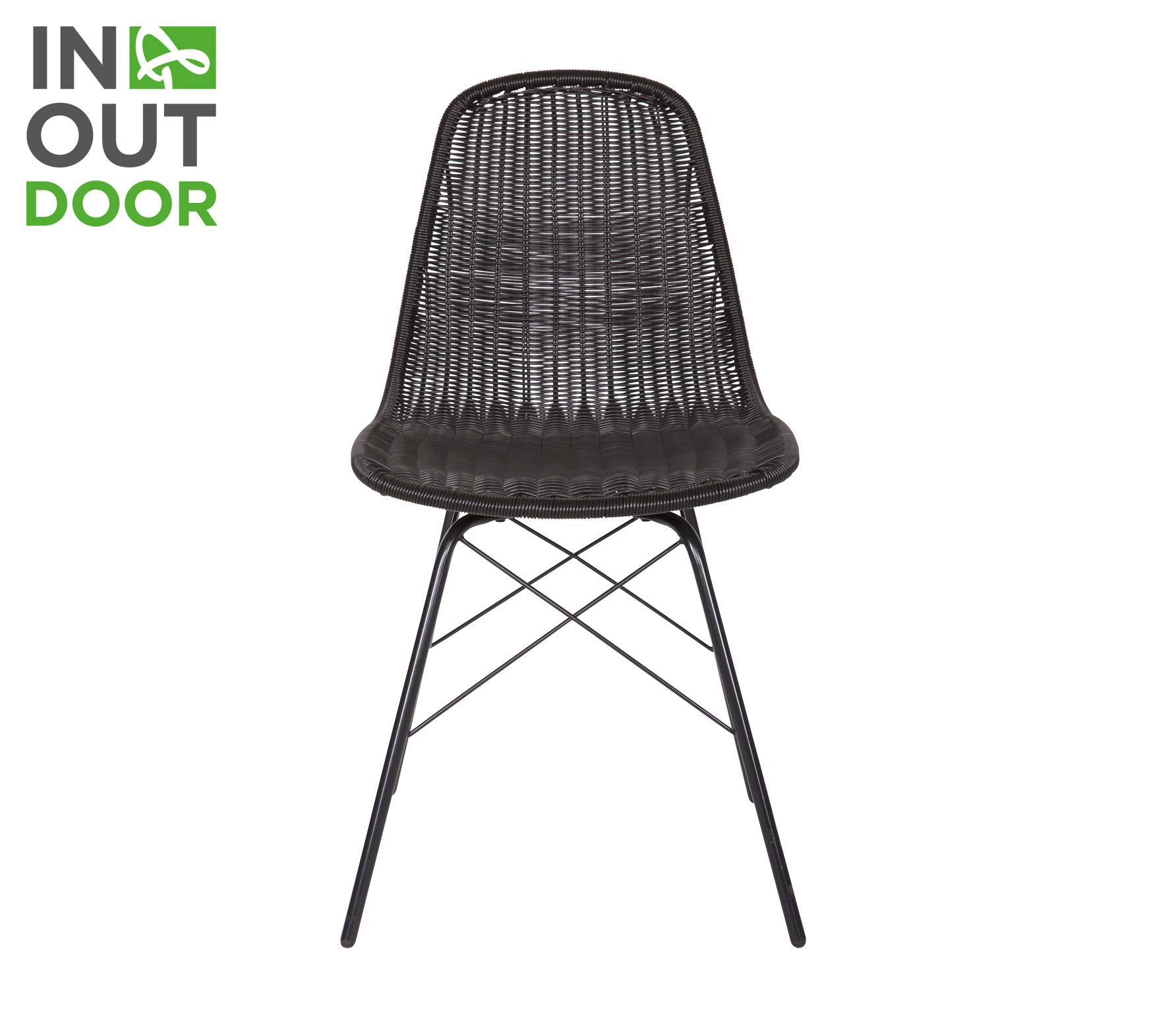 BePureHome Spun (binnen-buiten) stoel zwart Zwart