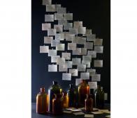 BePureHome Chemistry glazen vaas XL bruin Bruin