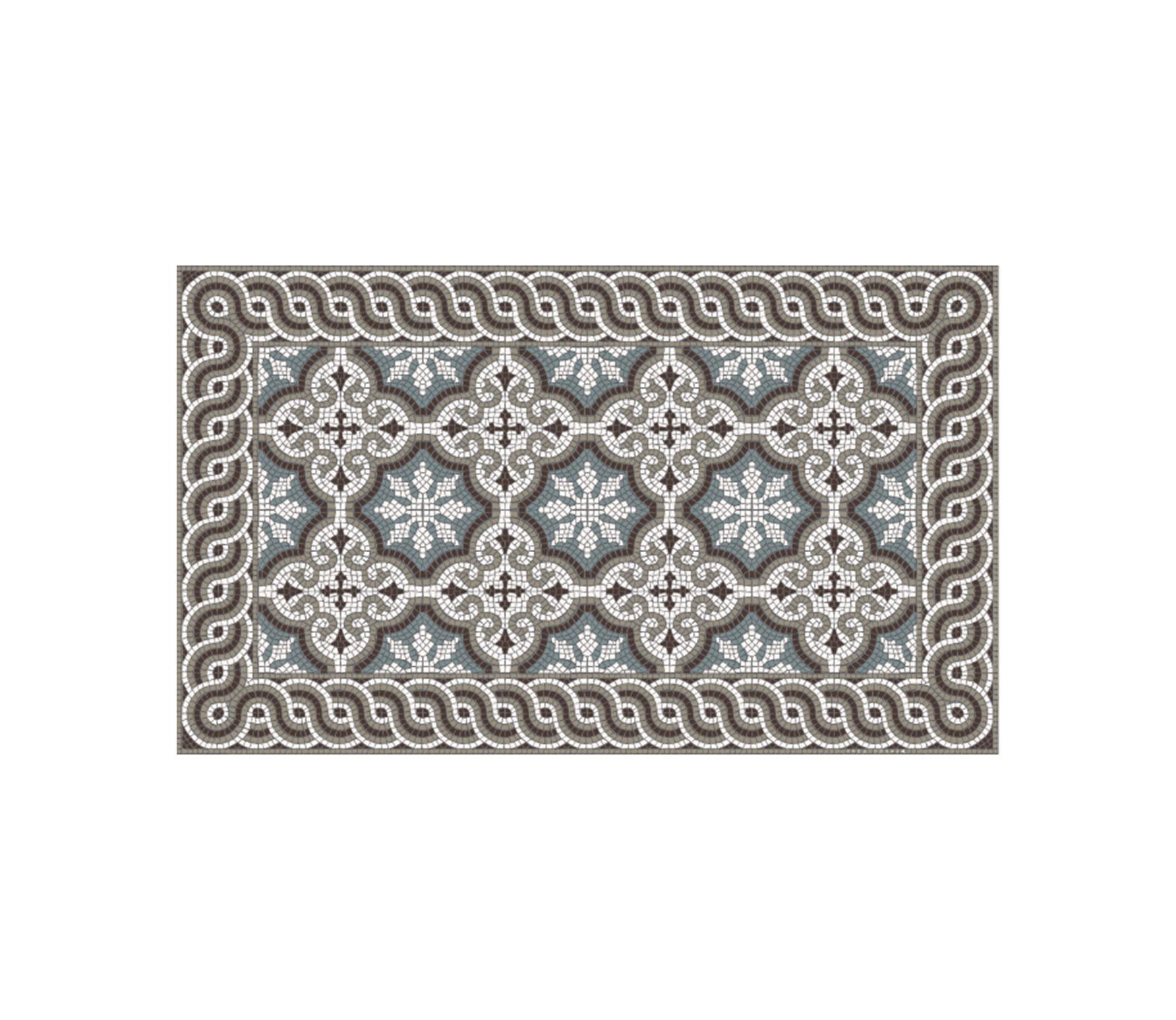 Beija Flor Mountain Mosaic vloermat, div. afmetingen large 70x120 cm