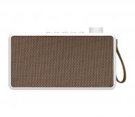Kreafunk tRadio DAB+ bluetooth speaker wit tRadio wit