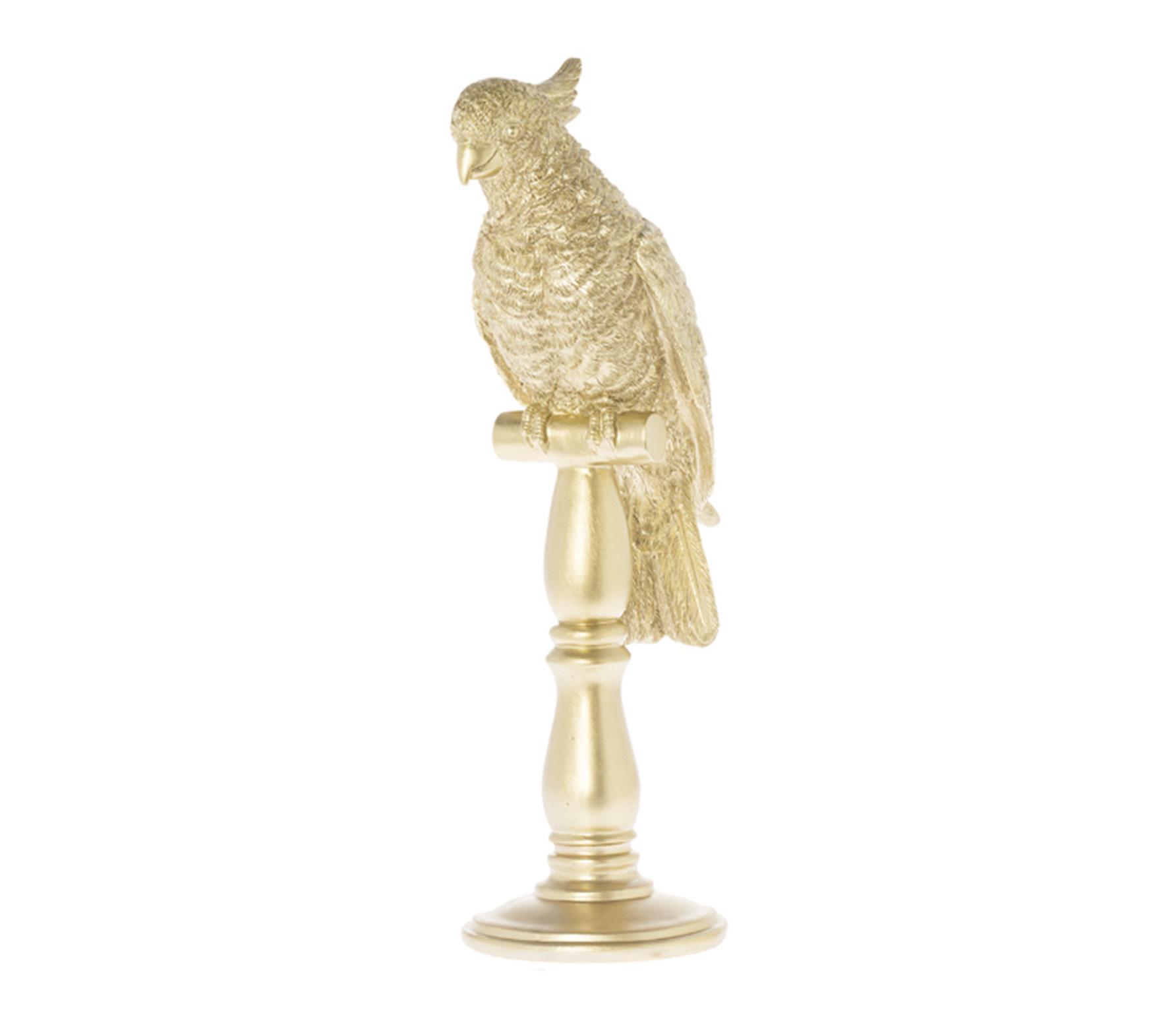 Riverdale Indy kaketoe 41 cm goud porselein