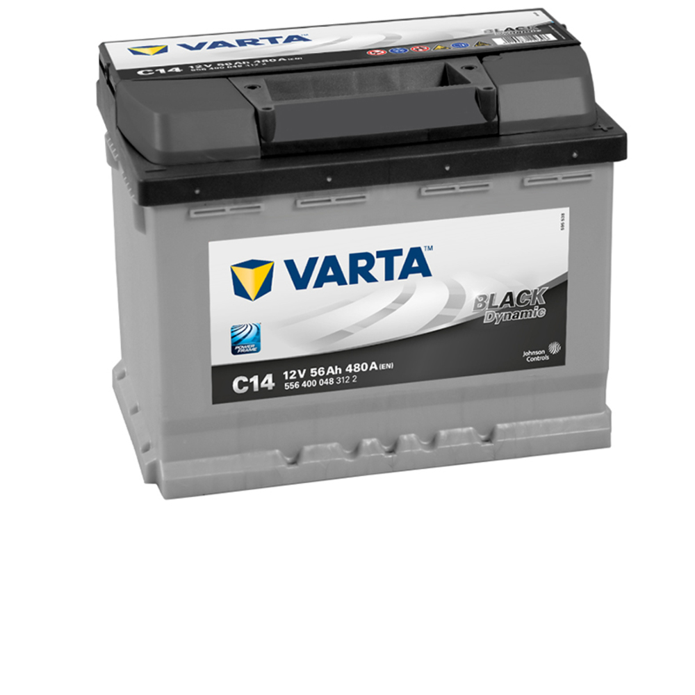 varta car batteries new powerframe 027 c14 556400048. Black Bedroom Furniture Sets. Home Design Ideas