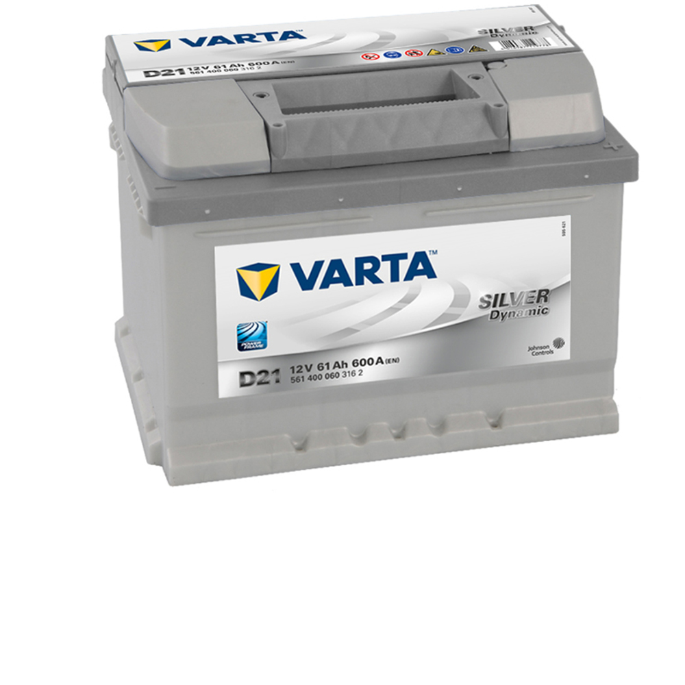 varta car battery new powerframe 075 d21 561400060. Black Bedroom Furniture Sets. Home Design Ideas