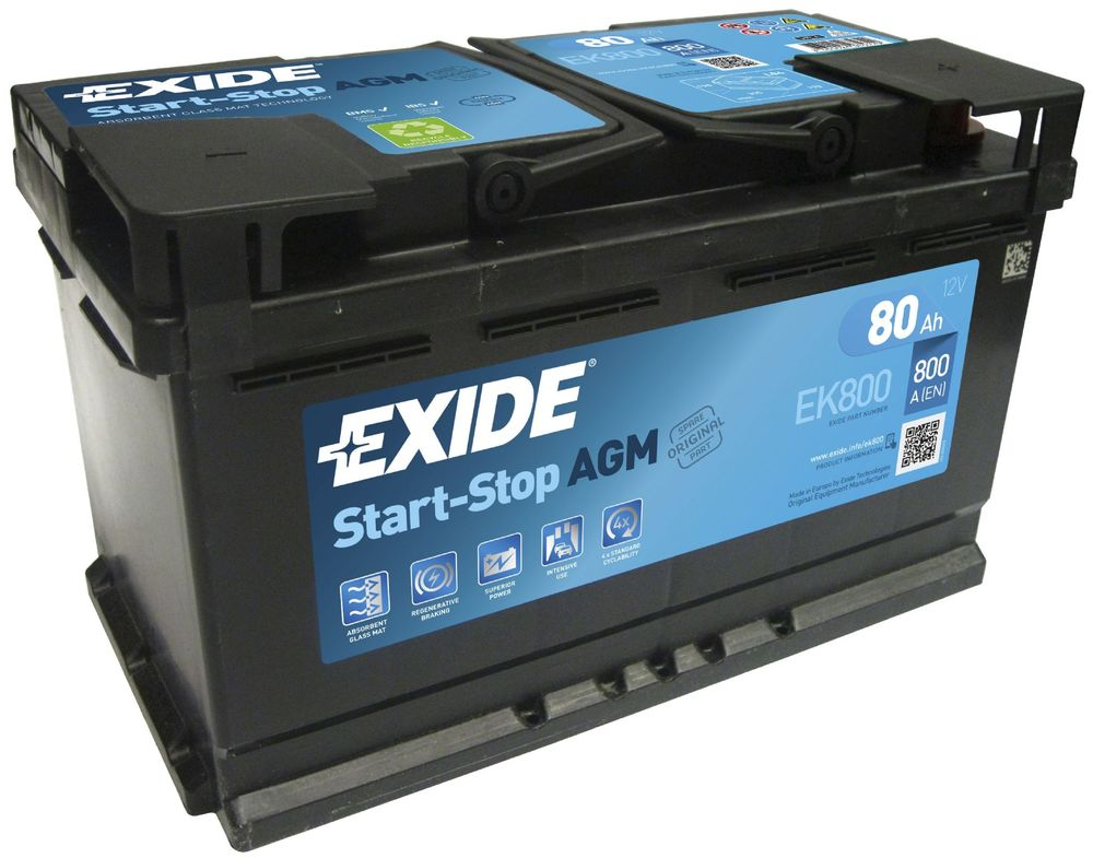 car battery exide ek800 low cost batteries online. Black Bedroom Furniture Sets. Home Design Ideas
